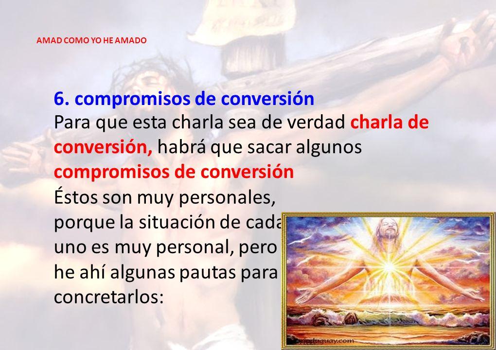 6. compromisos de conversión