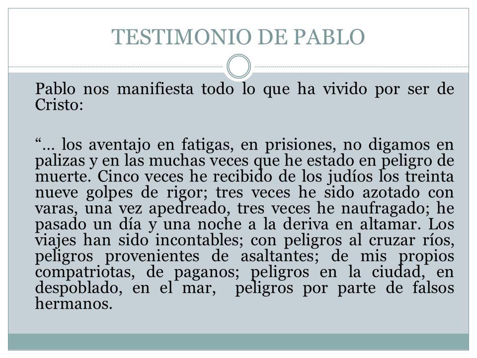 TESTIMONIO DE PABLO