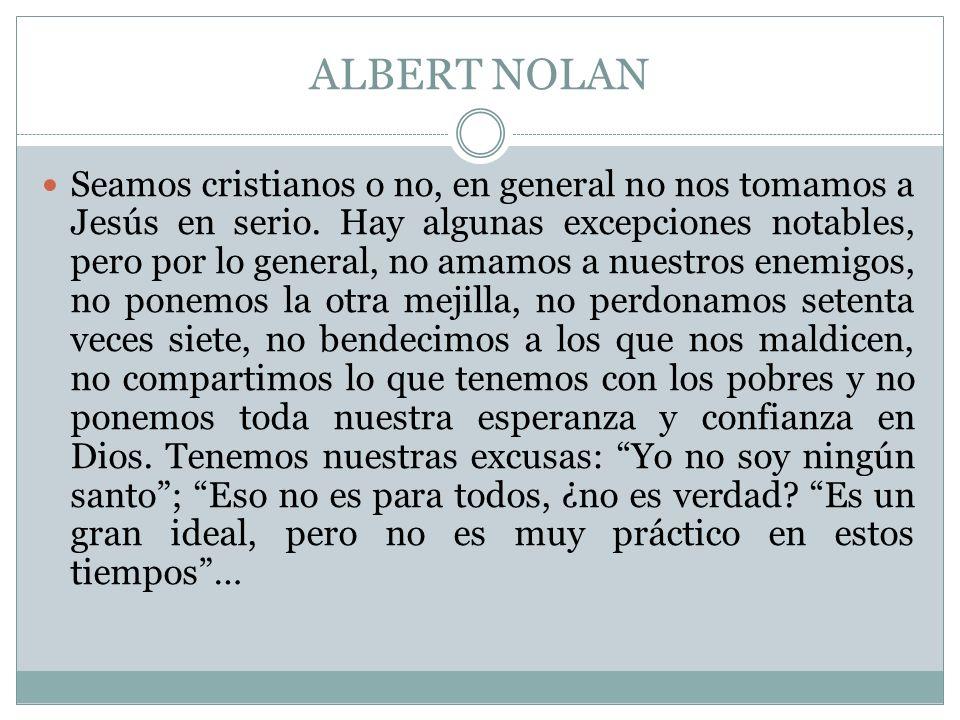 ALBERT NOLAN