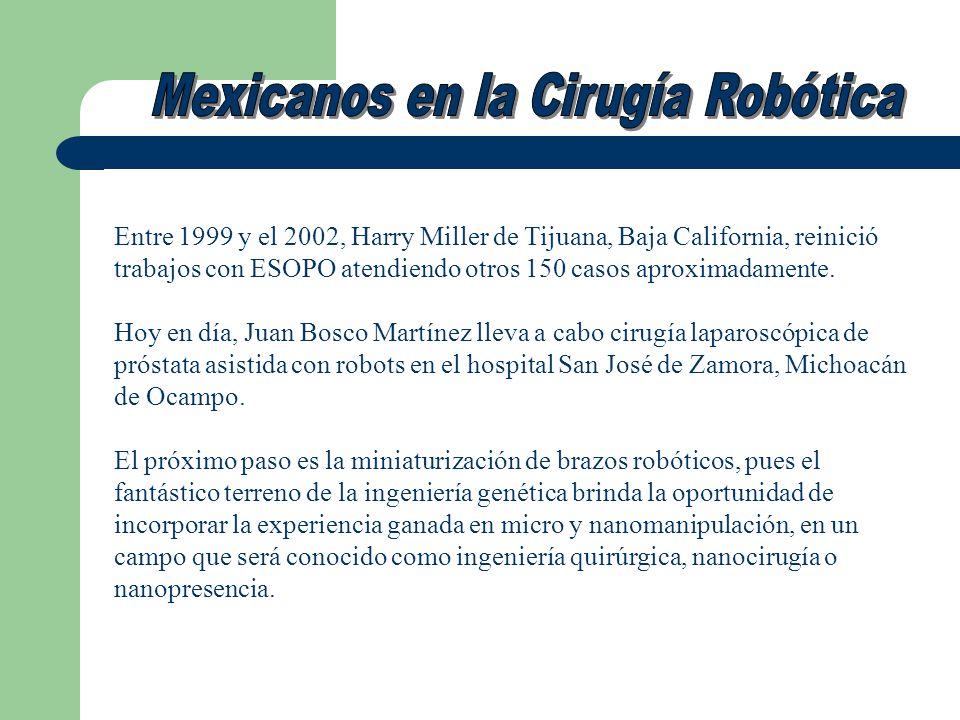 Mexicanos en la Cirugía Robótica