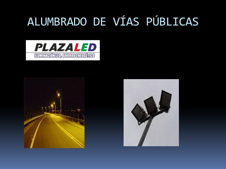 ALUMBRADO DE VÍAS PÚBLICAS