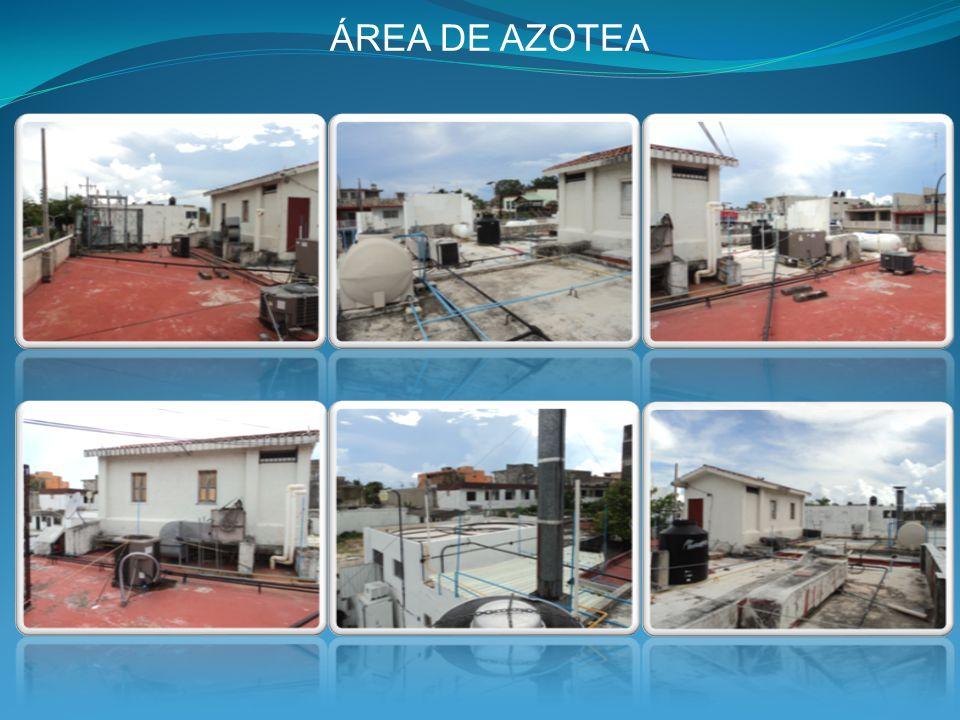 ÁREA DE AZOTEA