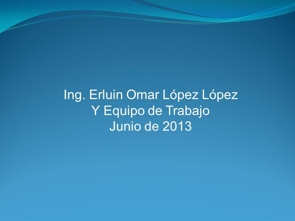 Ing. Erluin Omar López López