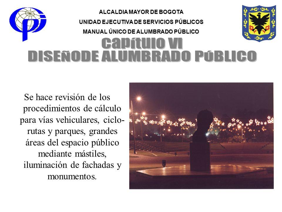 DISEÑODE ALUMBRADO PÚBLICO