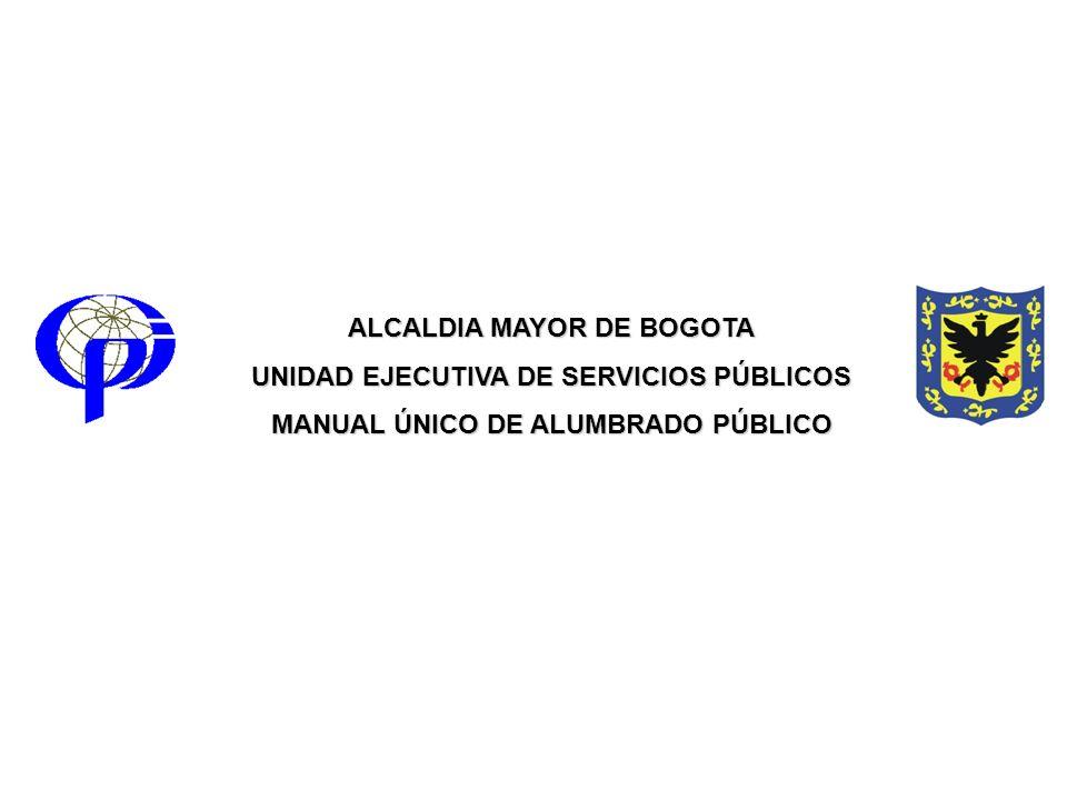 ALCALDIA MAYOR DE BOGOTA UNIDAD EJECUTIVA DE SERVICIOS PÚBLICOS