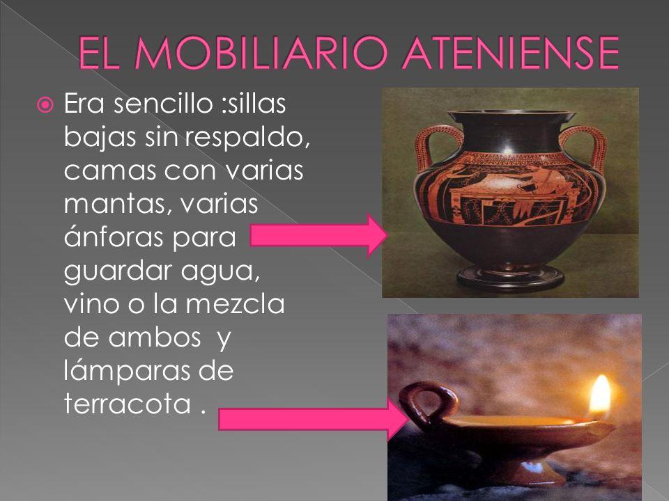 EL MOBILIARIO ATENIENSE