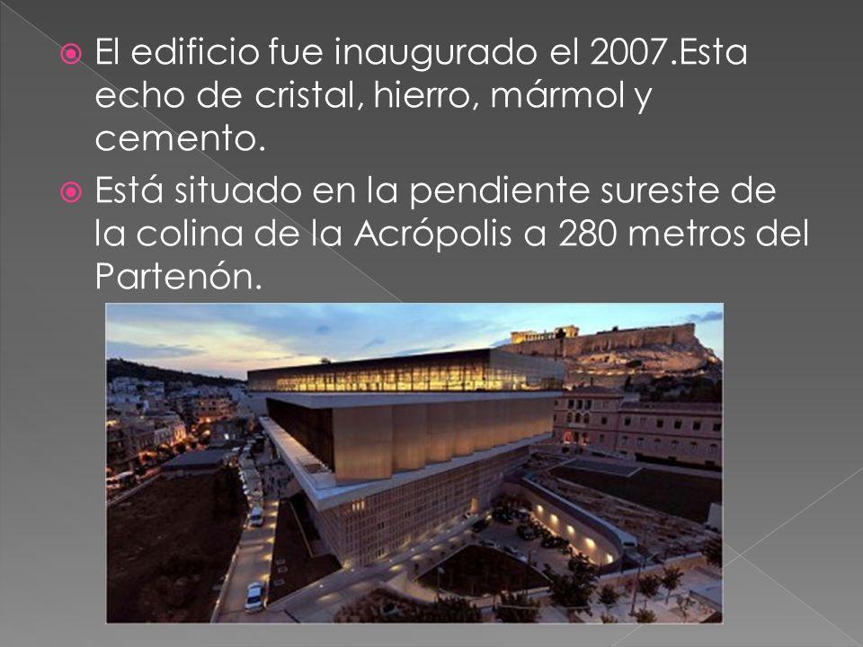 El edificio fue inaugurado el 2007