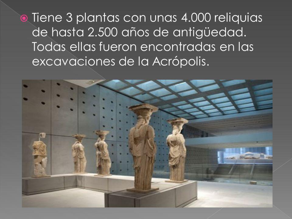 Tiene 3 plantas con unas 4. 000 reliquias de hasta 2