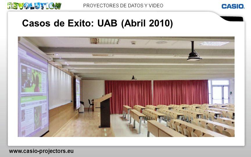 Casos de Exito: UAB (Abril 2010)