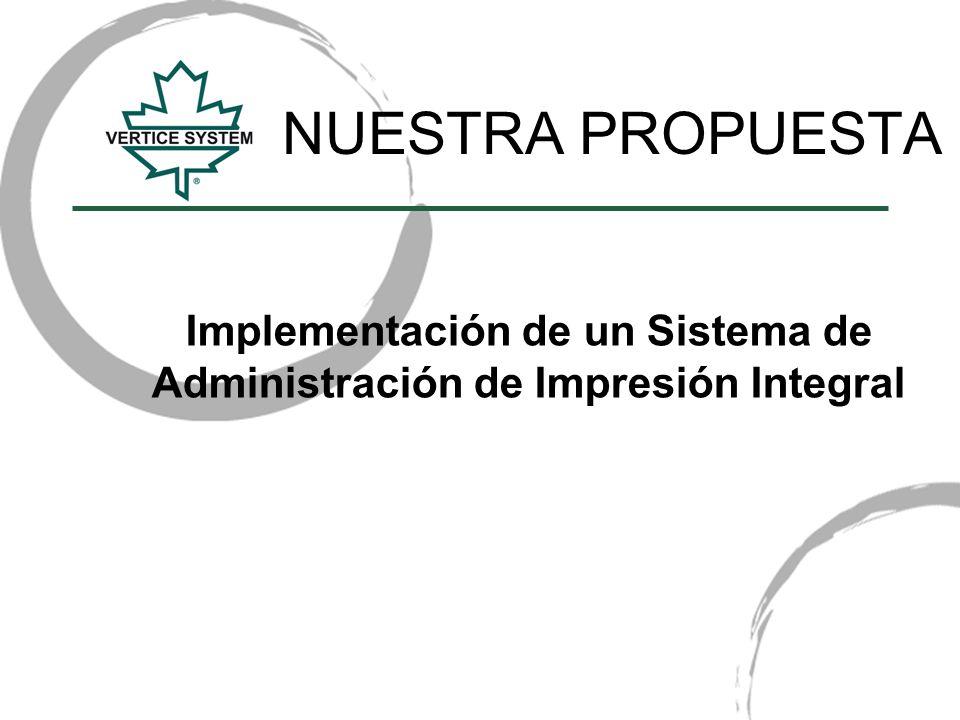 Implementación de un Sistema de Administración de Impresión Integral