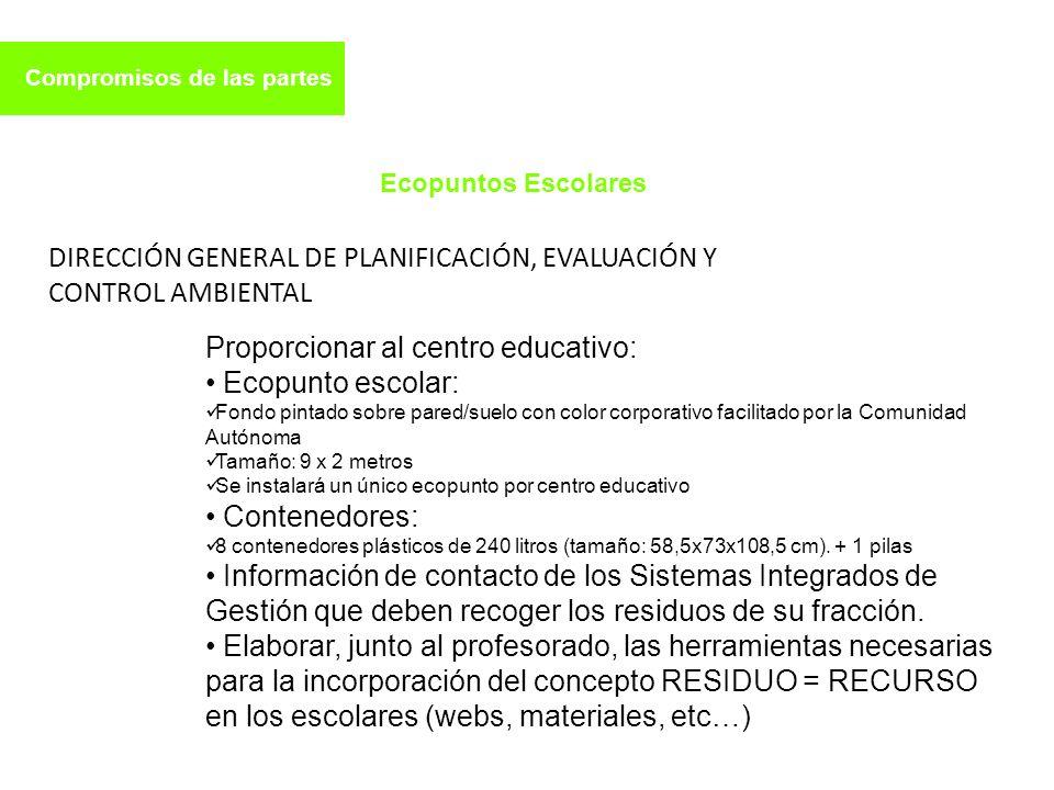 DIRECCIÓN GENERAL DE PLANIFICACIÓN, EVALUACIÓN Y CONTROL AMBIENTAL