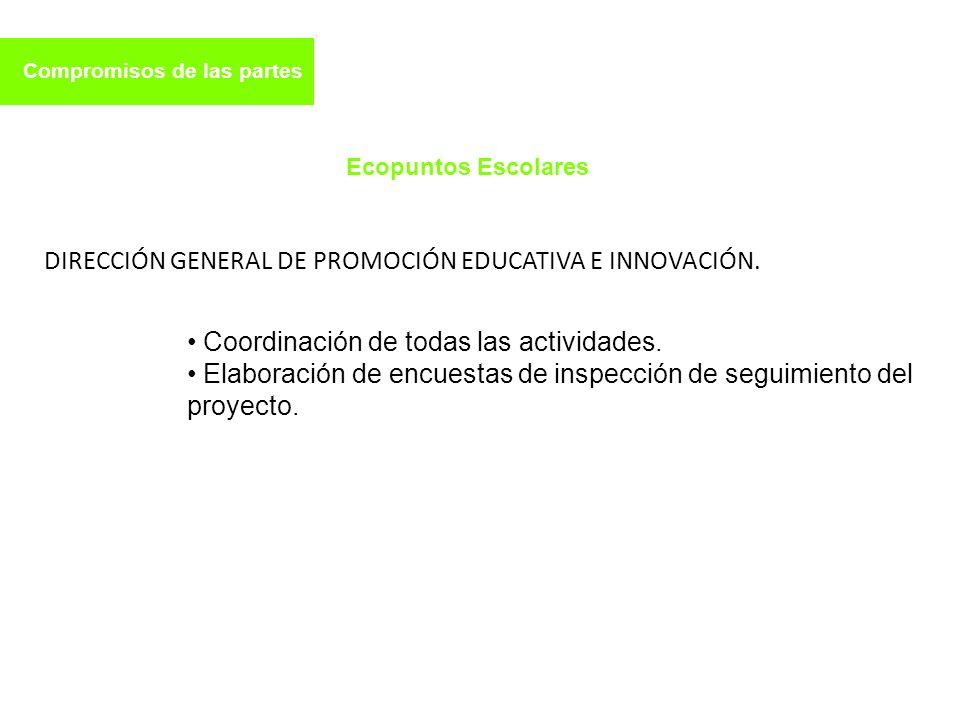 DIRECCIÓN GENERAL DE PROMOCIÓN EDUCATIVA E INNOVACIÓN.