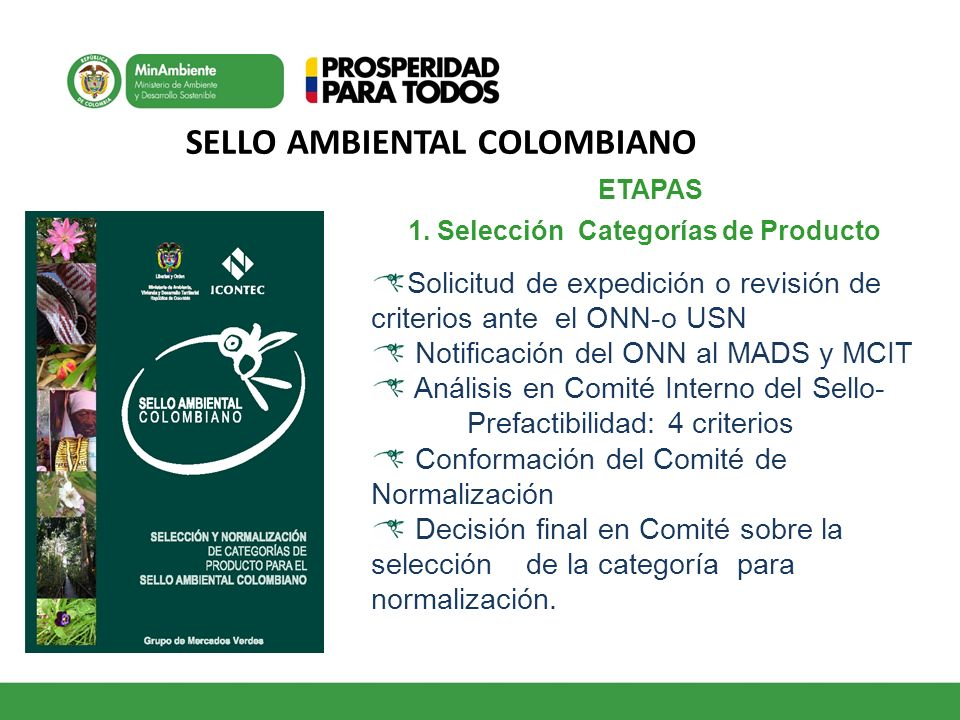 SELLO AMBIENTAL COLOMBIANO