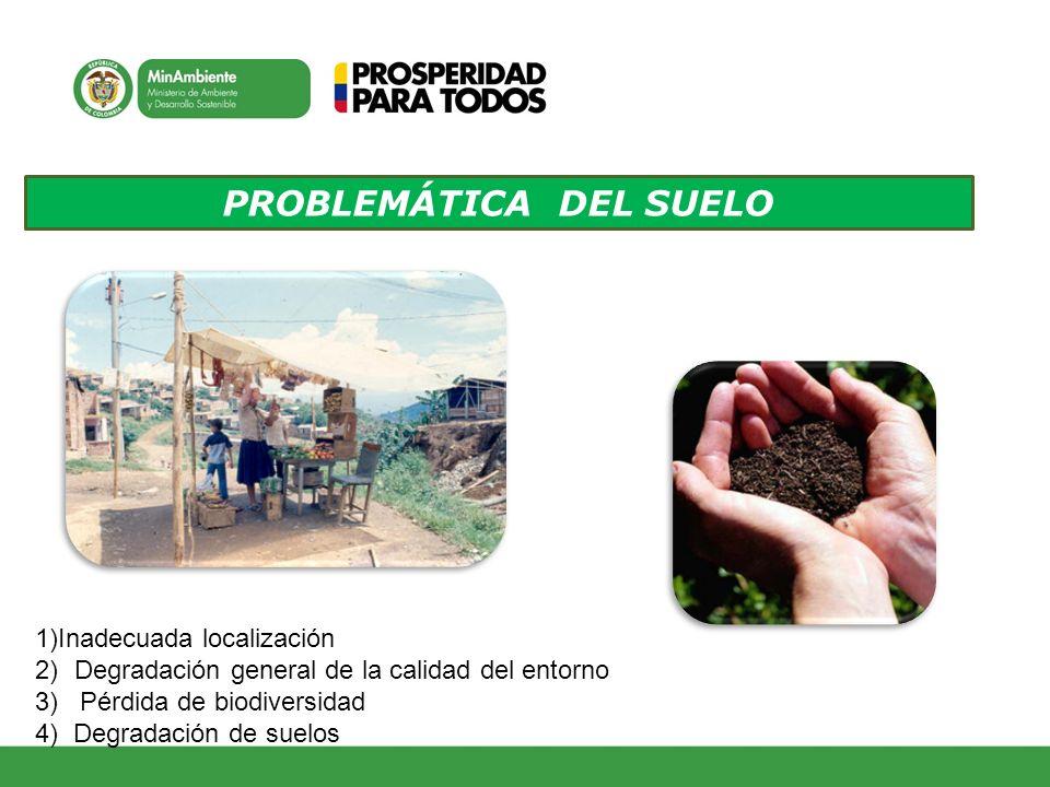 PROBLEMÁTICA DEL SUELO