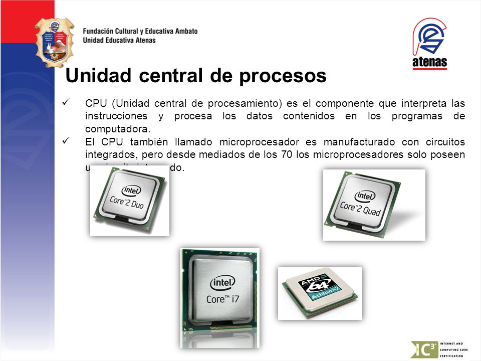 Unidad central de procesos