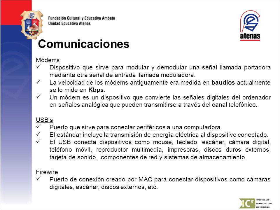 Comunicaciones Módems
