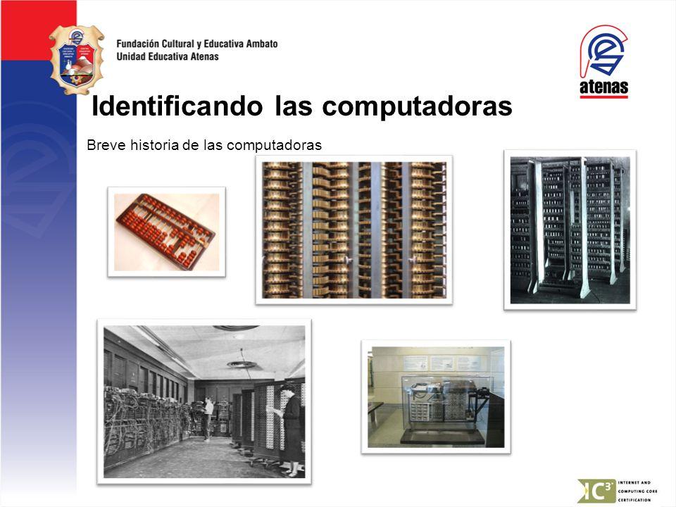 Identificando las computadoras
