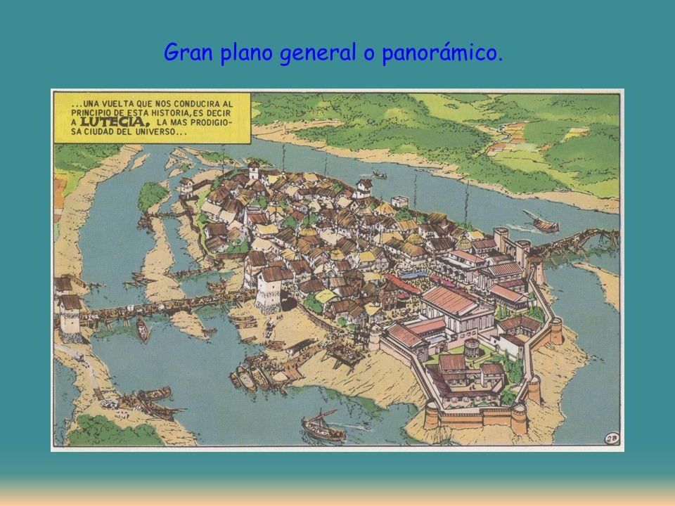 Gran plano general o panorámico.
