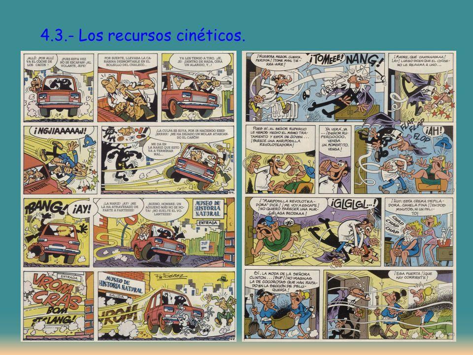 4.3.- Los recursos cinéticos.