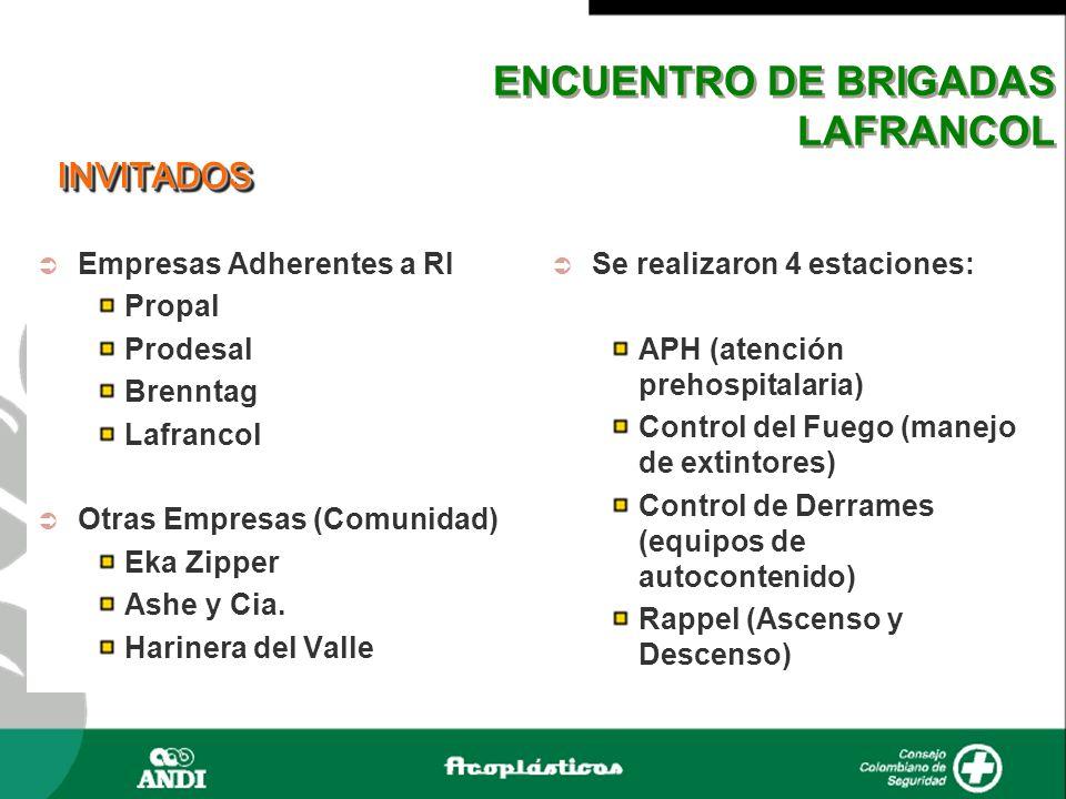 ENCUENTRO DE BRIGADAS LAFRANCOL