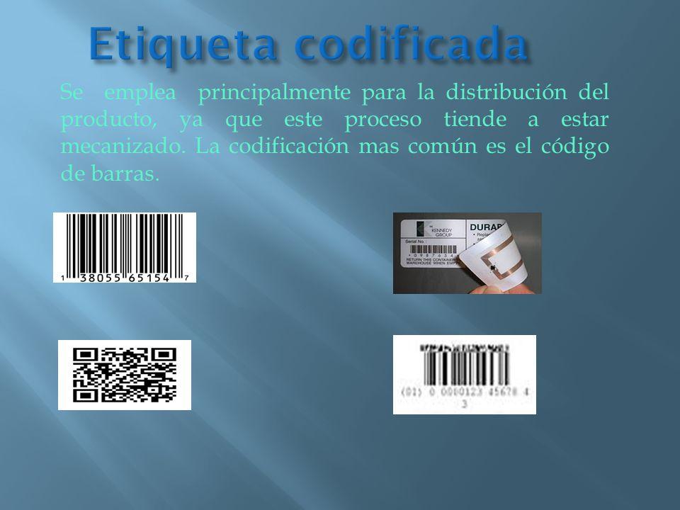 Etiqueta codificada