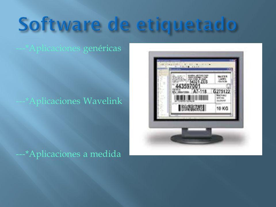Software de etiquetado