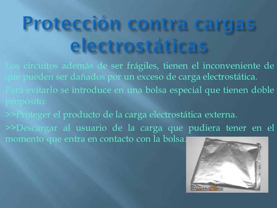 Protección contra cargas electrostáticas