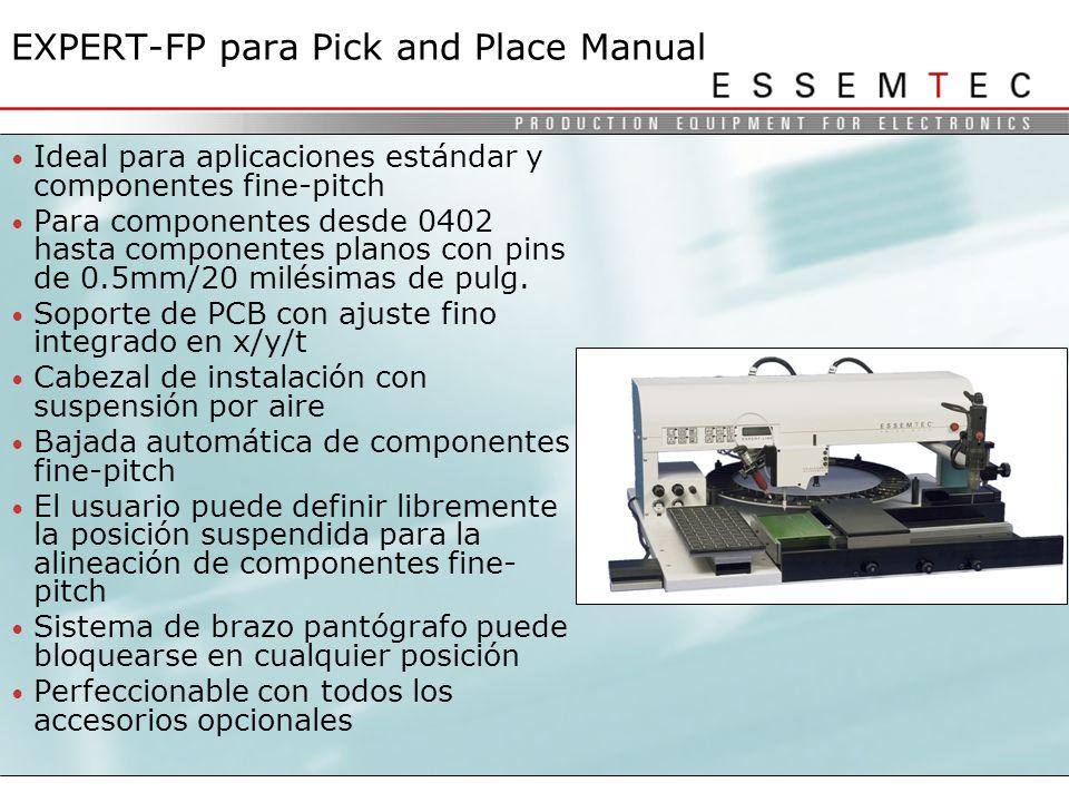 EXPERT-FP para Pick and Place Manual