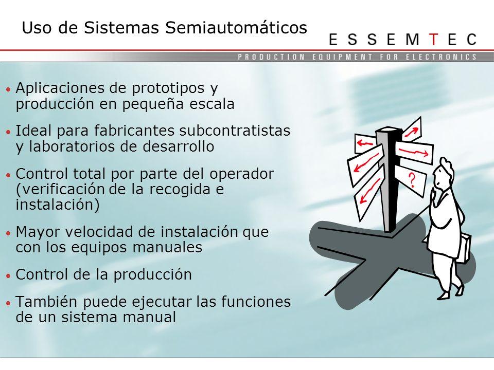 Uso de Sistemas Semiautomáticos