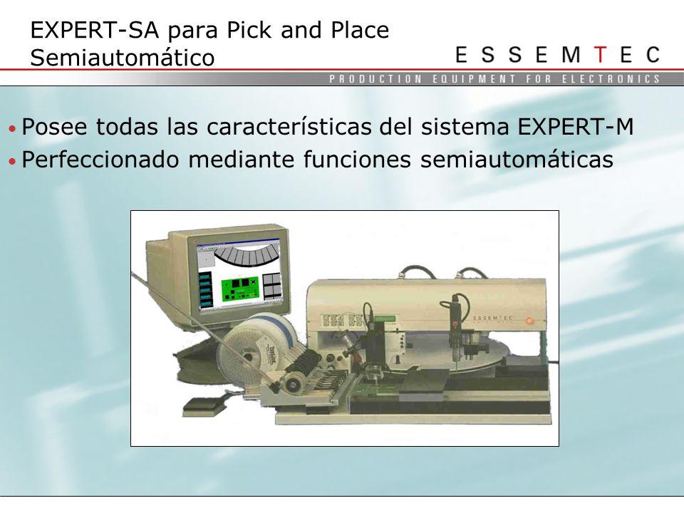 EXPERT-SA para Pick and Place Semiautomático