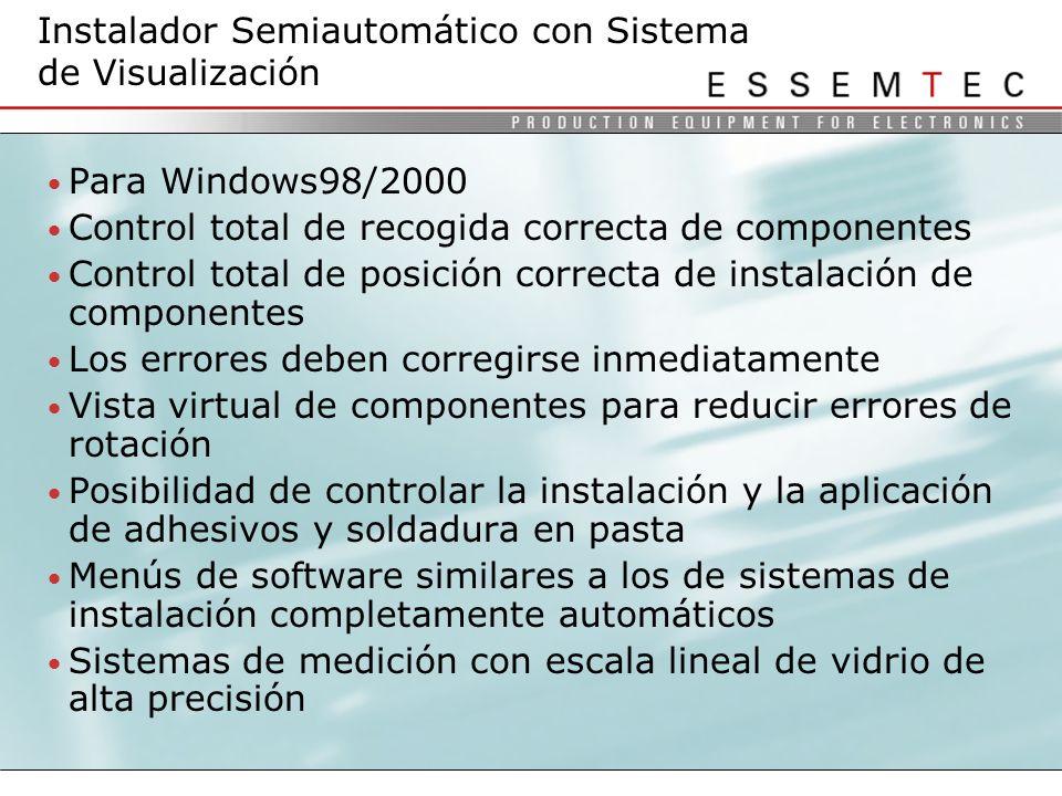 Instalador Semiautomático con Sistema de Visualización