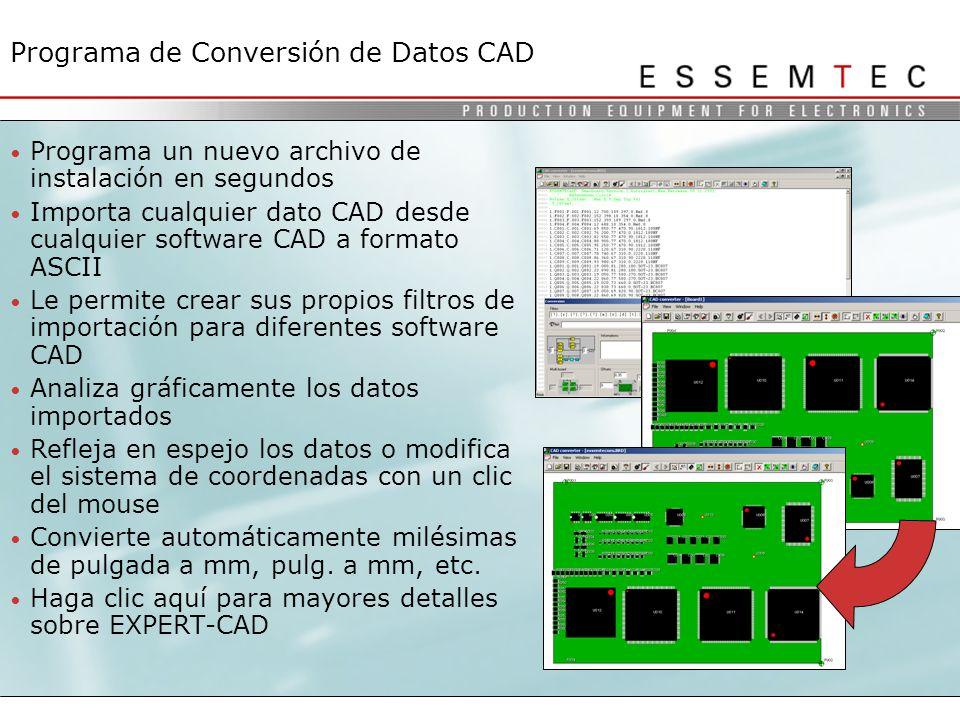 Programa de Conversión de Datos CAD