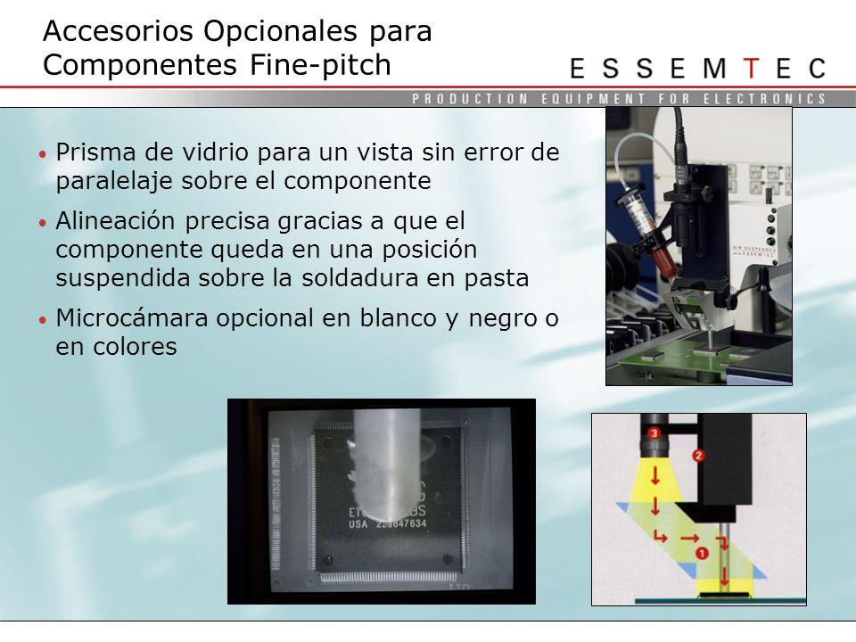 Accesorios Opcionales para Componentes Fine-pitch