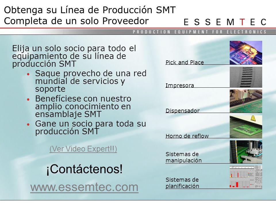 Obtenga su Línea de Producción SMT Completa de un solo Proveedor