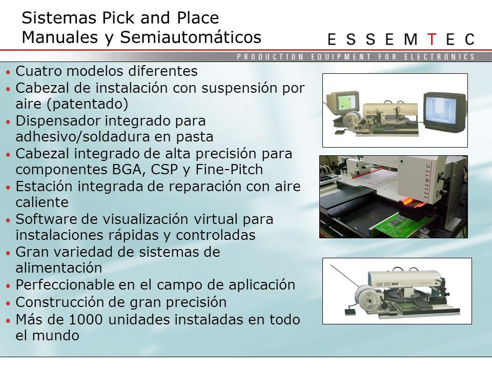 Sistemas Pick and Place Manuales y Semiautomáticos