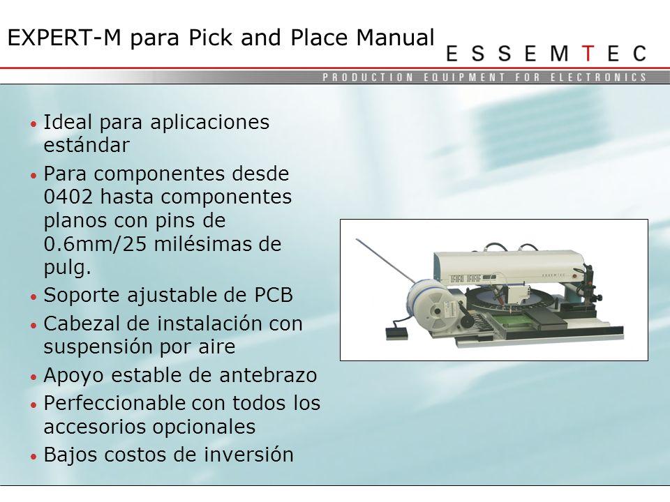 EXPERT-M para Pick and Place Manual