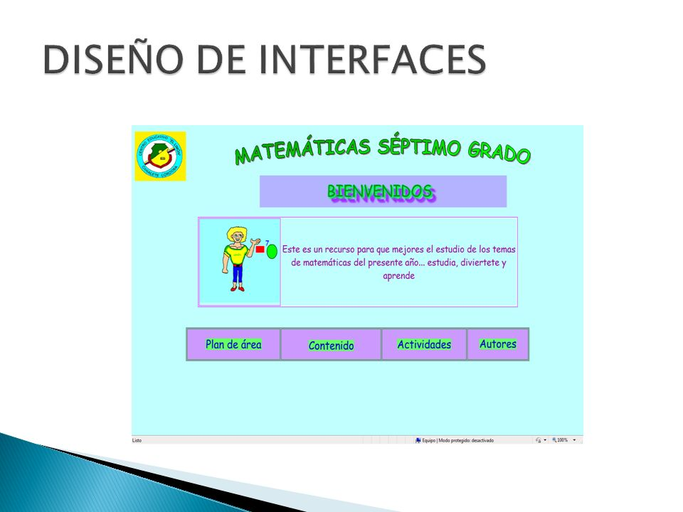 DISEÑO DE INTERFACES