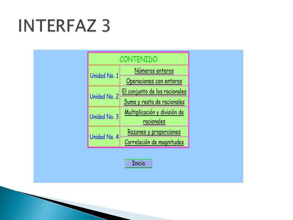 INTERFAZ 3
