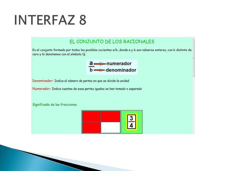 INTERFAZ 8