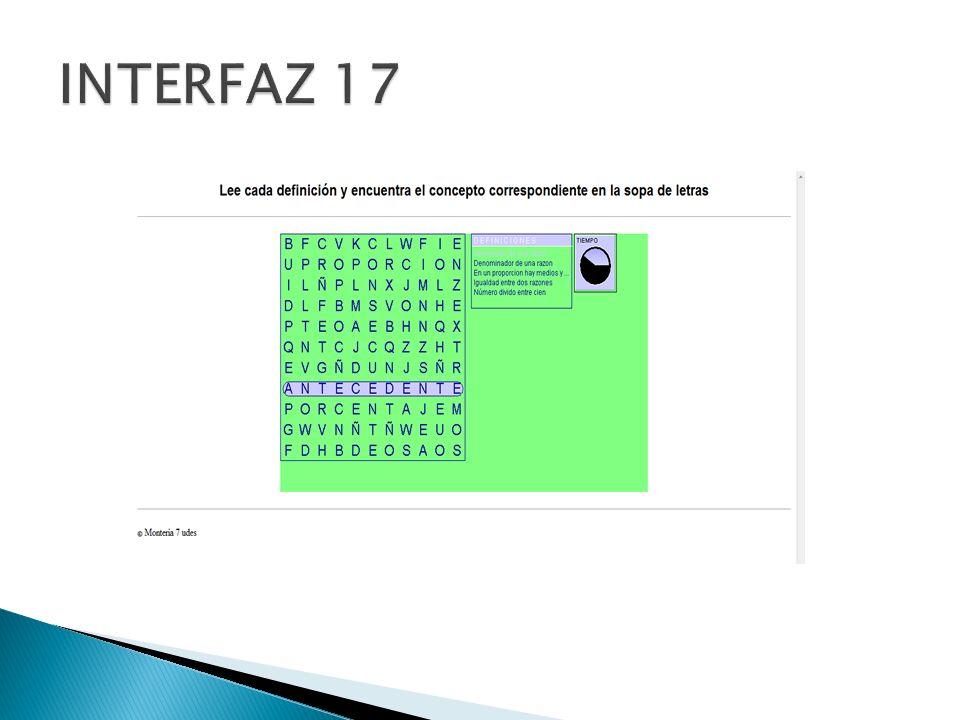 INTERFAZ 17
