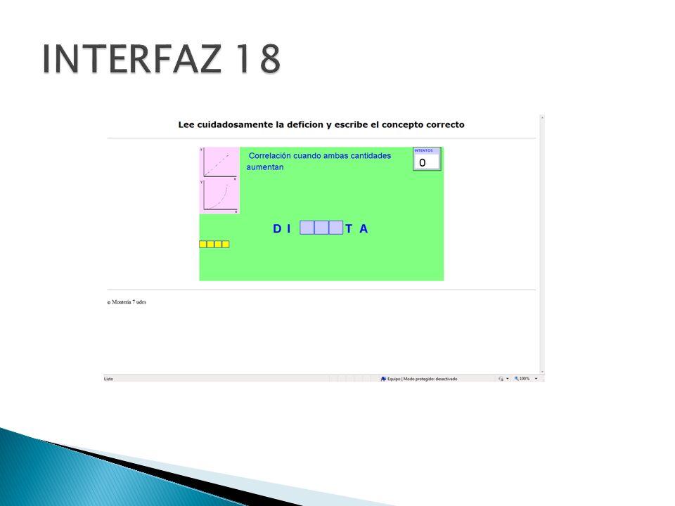INTERFAZ 18