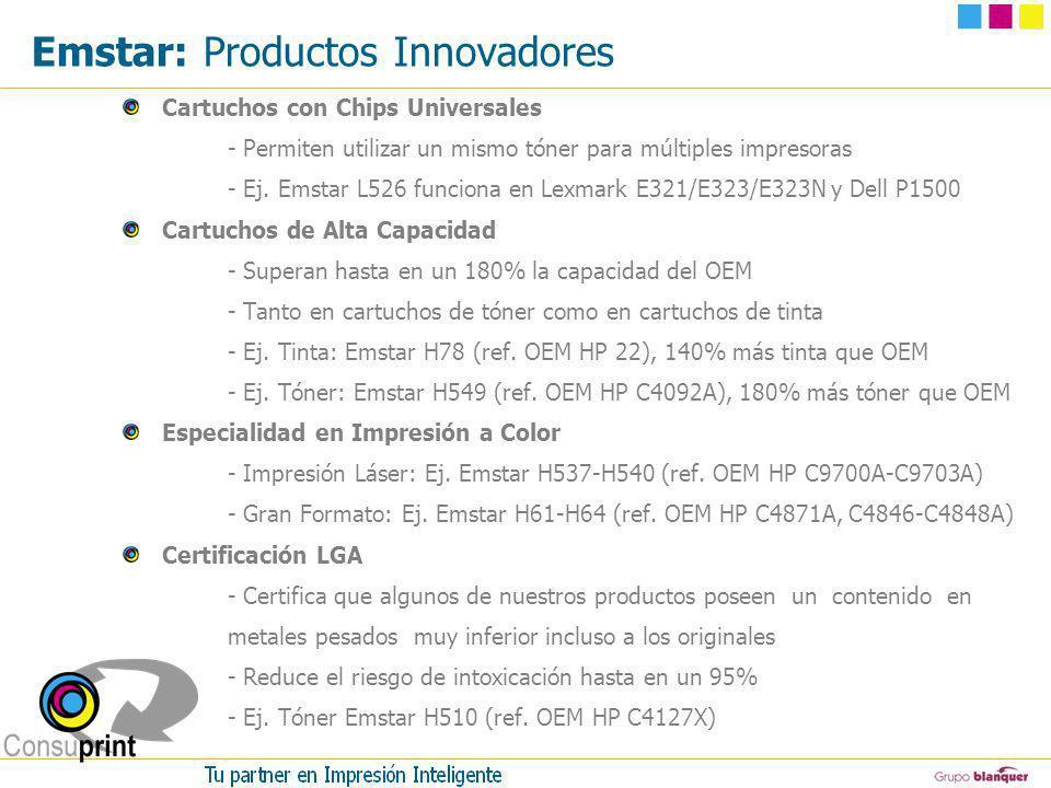 Emstar: Productos Innovadores