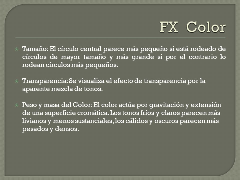 FX Color