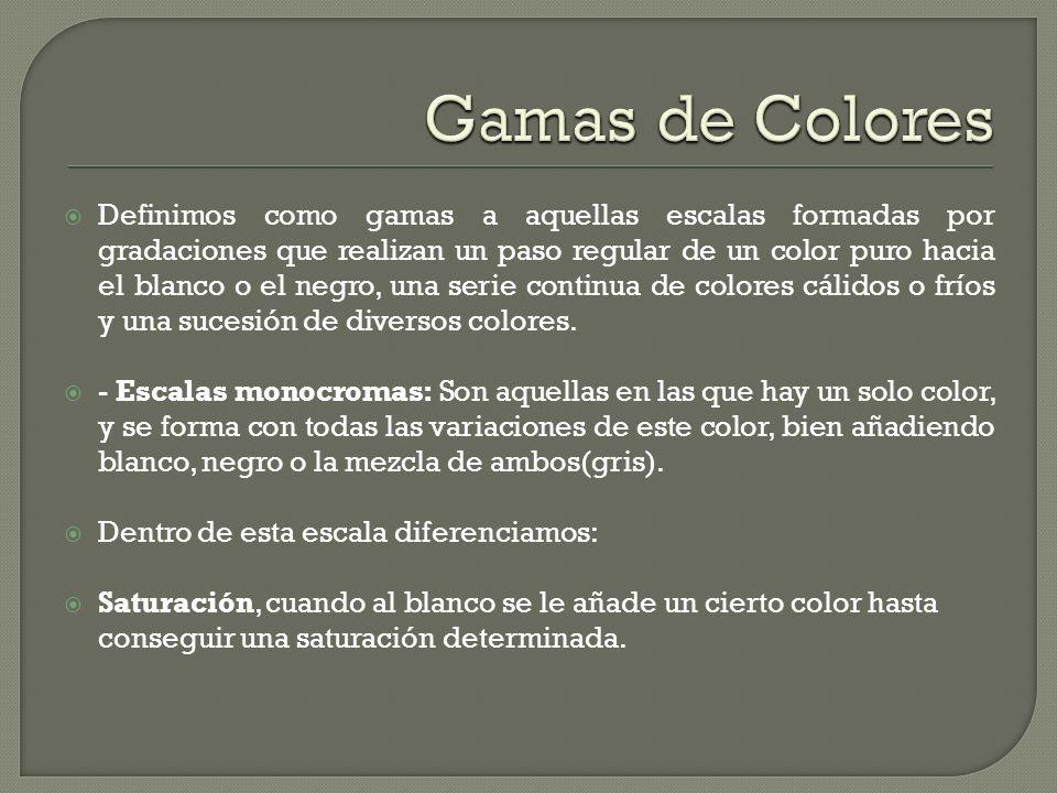 Gamas de Colores