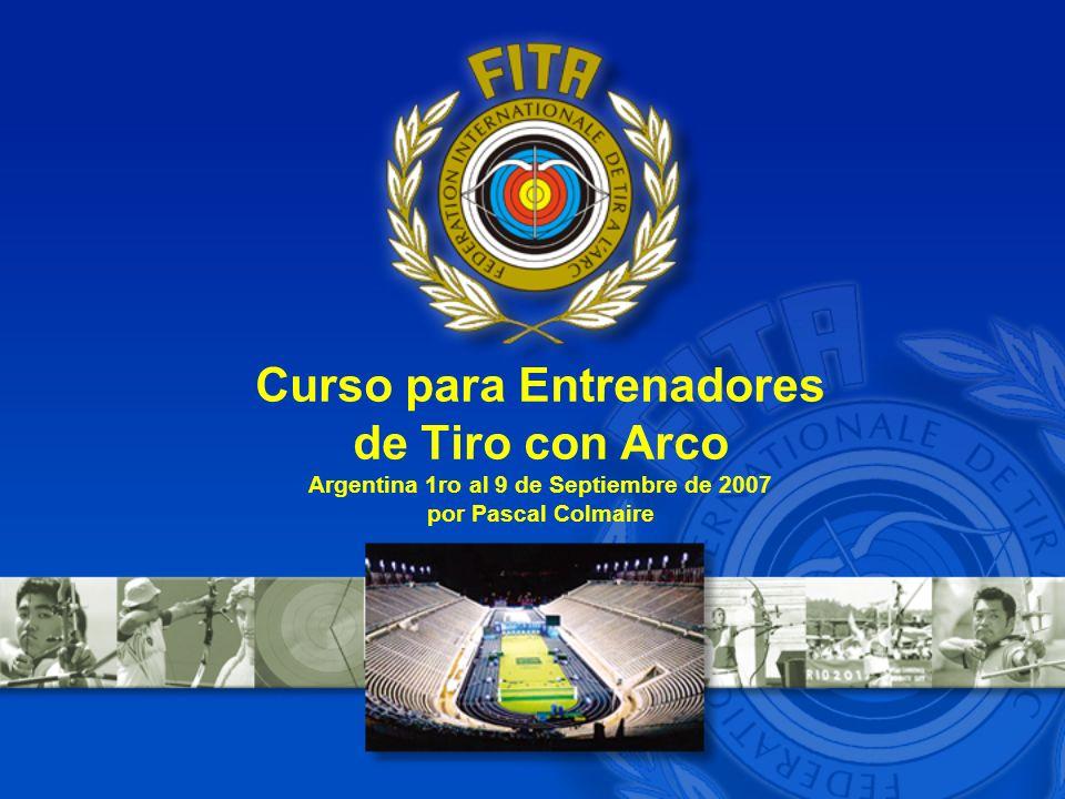 Curso para Entrenadores de Tiro con Arco Argentina 1ro al 9 de Septiembre de 2007 por Pascal Colmaire