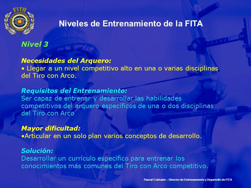Niveles de Entrenamiento de la FITA