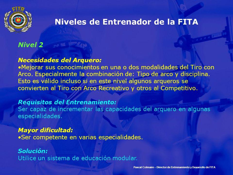 Niveles de Entrenador de la FITA