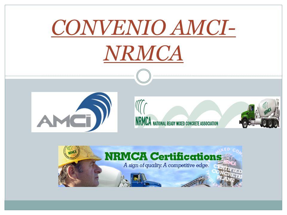 CONVENIO AMCI-NRMCA