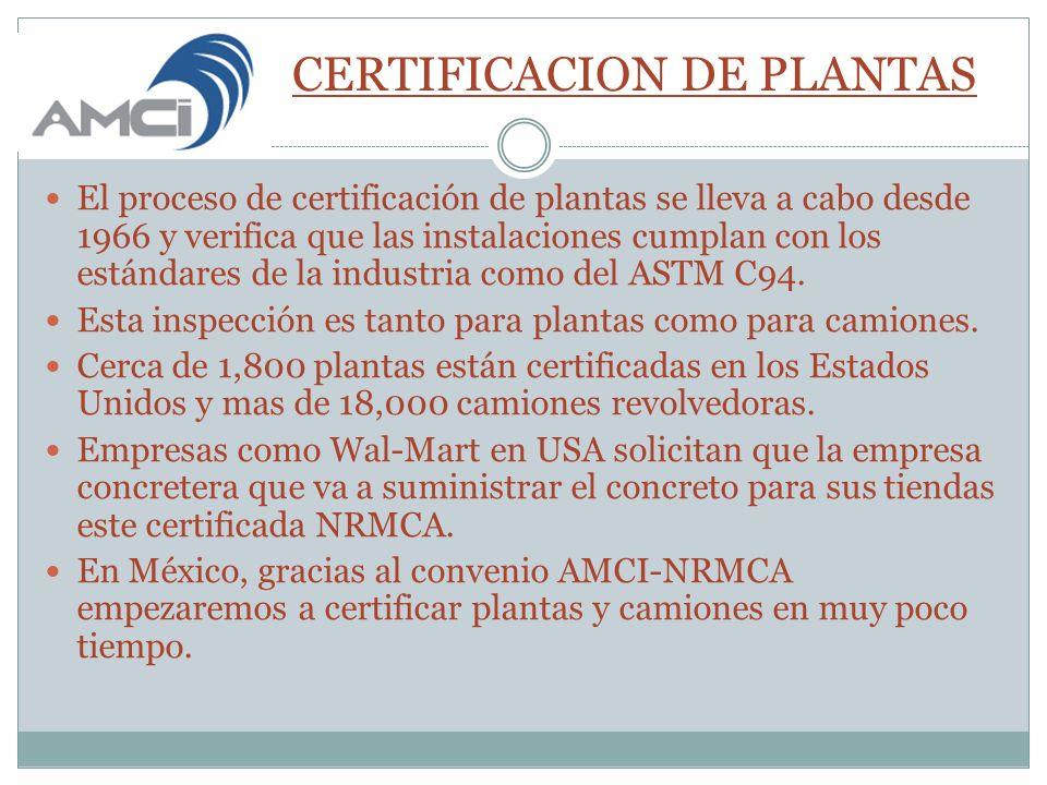 CERTIFICACION DE PLANTAS