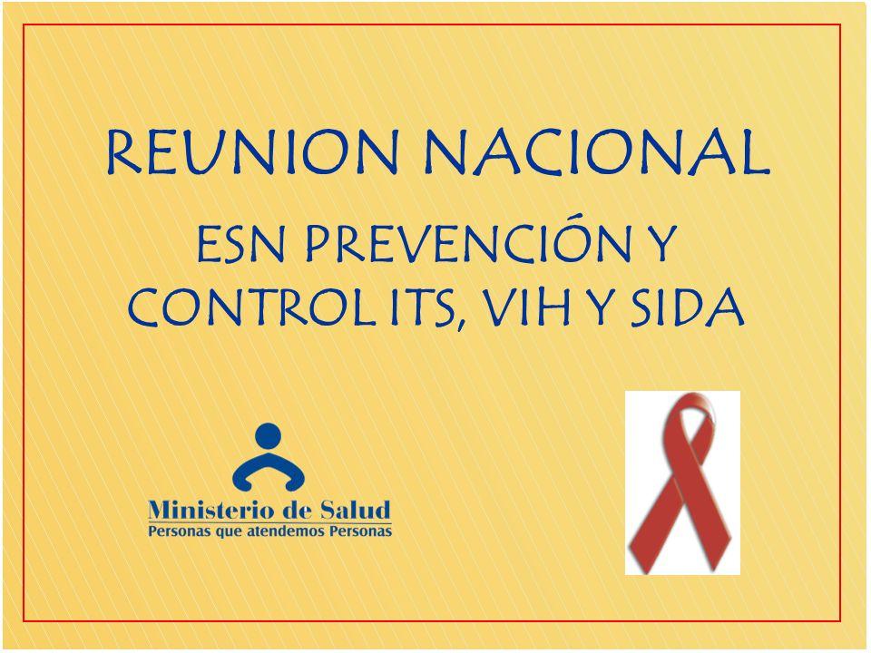 ESN PREVENCIÓN Y CONTROL ITS, VIH Y SIDA